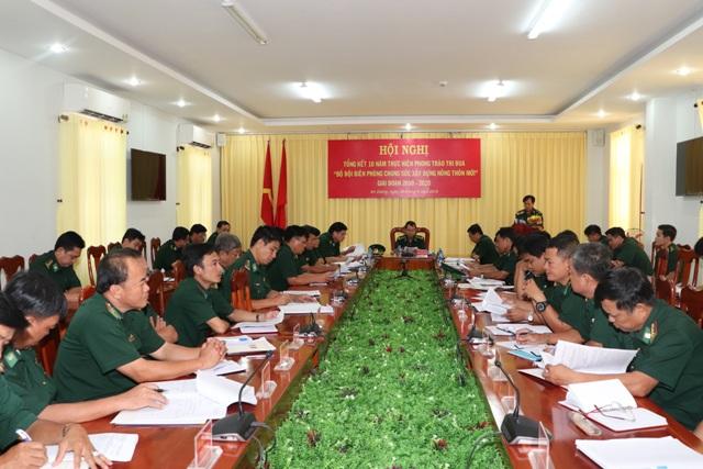 Bộ đội Biên phòng tỉnh An Giang chung sức xây dựng nông thôn mới